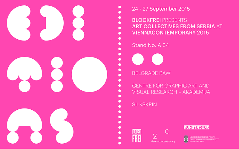 ART COLLECTIVES FROM SERBIA AT  VIENNACONTEMPORARY 2015