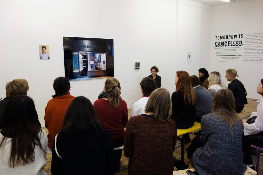 EXHIBITION TALKS: TOMORROW IS CANCELLED