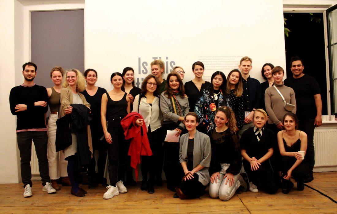 Curators' Agenda: VIENNA 2019 1